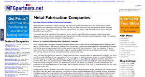 Metal Fabrication Companies