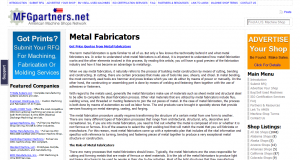 Metal Fabricators